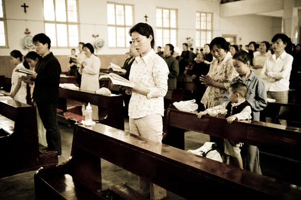 Pictorial: Chinese Catholics 天主教