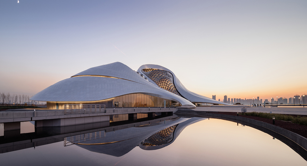 Pictorial: New China, Harbin Opera House