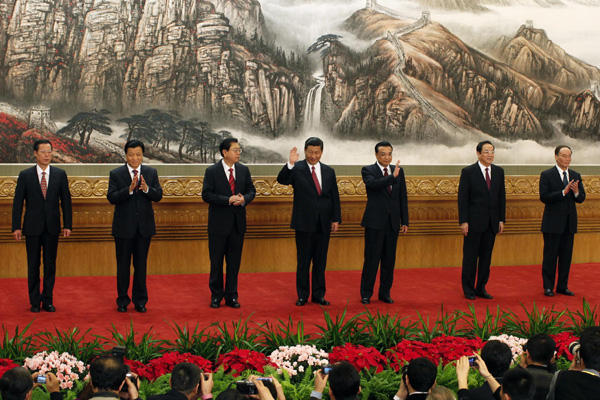 China`s CPC Leaders profiles & structure 2012