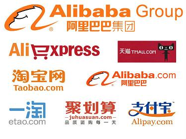 Alibaba leading the way Internationally.