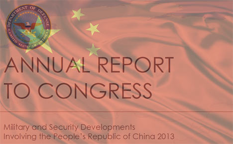 PRC Military and Security report to US Congress 2013